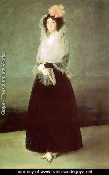 Goya - The Countess Of El Carpio