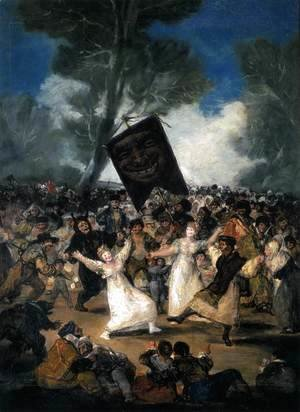 Goya - The Burial Of The Sardine