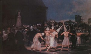 Goya - Procession Of Flagellants On Good Friday