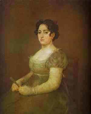 Goya - The Woman With A Fan