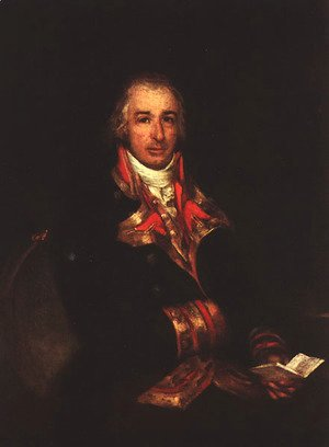 Goya - Portrait Of Don Jose Queralto