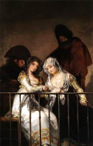 Goya - Majas On A Balcony