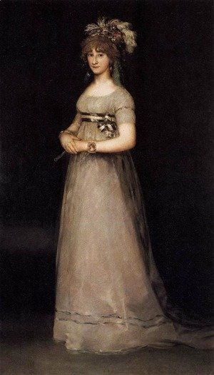 Goya - Portrait Of The Countess Of Chinchon