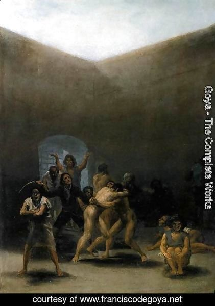 Goya - The Yard Of A Madhouse