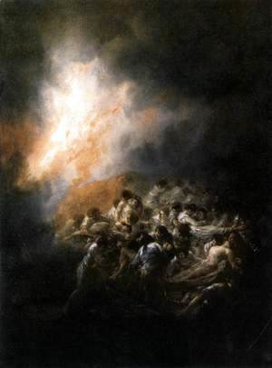 Goya - Fire At Night