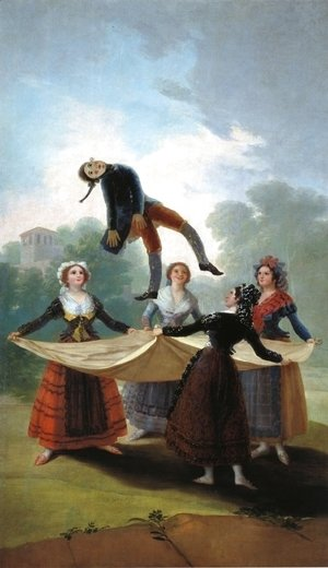 Goya - The Straw Manikin