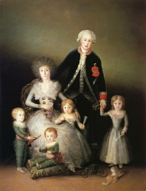 Goya - The Family Of The Duke Of Osuna