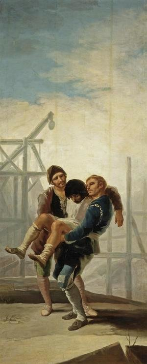 Goya - The Injured Mason