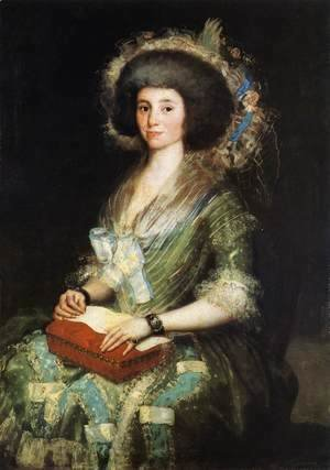 Goya - Portrait Of The Wife Of Juan Agustin Cean Bermudez