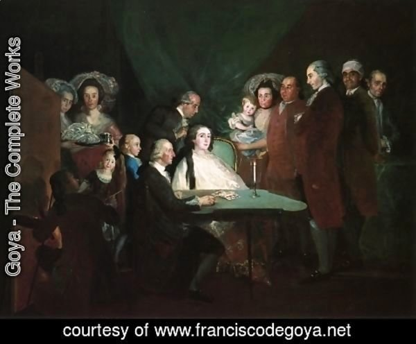 Goya - The Family Of The Infante Don Luis
