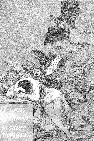 Goya - Caprichos  Plate 43  The Sleep Of Reason Produces Monsters